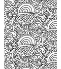 Artist Series Printed & Clear Shrink Film-Doodle