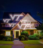 Virginia Tech Hokies Team Pride Light, , hi-res