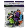 Little Makers Halloween 30 pk Foam Stickers-Icons