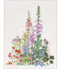 Thea Gouverneur Counted Cross Stitch Kit-American Wild Flowers