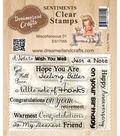 Dreamerland Crafts Clear Stamp Set 3\u0027\u0027x4\u0027\u0027-Miscellaneous 01