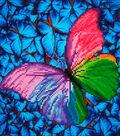 Diamond Embroidery Facet Art Kit 15\u0022X15\u0022-Flutter By Pink