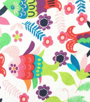 Doodles Juvenile Apparel Fabric -Fiesta Fish
