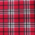 Blizzard Fleece Fabric-Red Trad Plaid