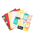 Die Cuts with a View Easy Peasy 36 pk Premium Printed Cardstock Stack