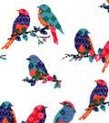 Snuggle Flannel Fabric -Bird Traps