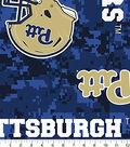 University of Pittsburgh Panthers Fleece Fabric 60\u0022-Digital Camo