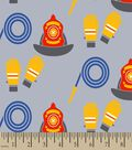 Firefighter Print Fabric