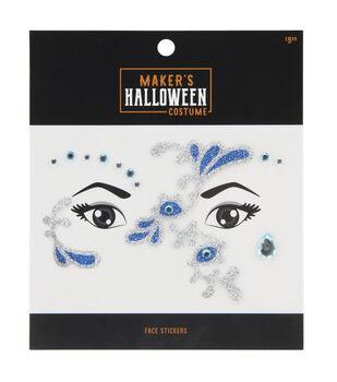 Maker's Halloween Costume Face Stickers-Mermaid