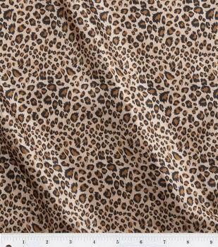 Fashion Lining Fabric 57''-Leopard