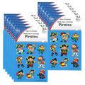 Carson Dellosa Pirates Prize Pack Stickers 12 Packs