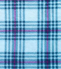 Sew Lush Fleece Fabric -Plaid