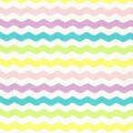Easter Cotton Fabric-Rick Rack Stripe Pastel