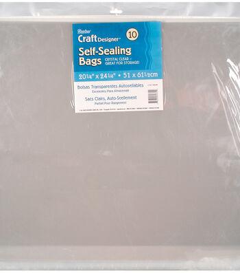 """Darice Self Sealing Bags 20.25""""x24.25"""""""