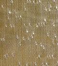 Holiday Decor Fabric-Solid Gold Metallic