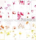 Alexandra Renke Poppy Design Paper 12\u0022X12\u0022-Flower Cards