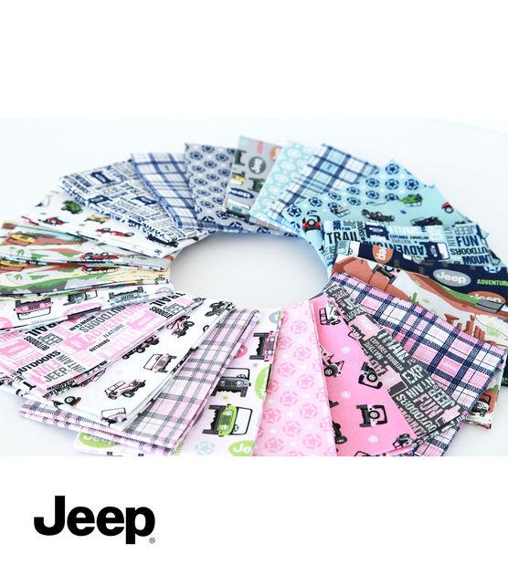 Jeep Adventure Awaits Fat Quarter Bundle by Riley Blake, , hi-res, image 2