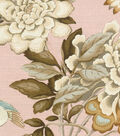 Waverly Designer Multi-Purpose Decor Fabric 54\u0022-Mudan Blush