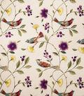 Home Decor 8\u0022x8\u0022 Fabric Swatch-Print Fabric Eaton Square Singer Peacock