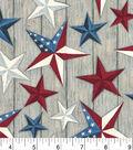 Susan Winget Premium Quilt Patriotic Cotton Fabric -Texas Stars