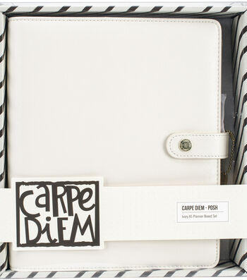 Carpe Diem A5 Planner Boxed Set-Ivory Posh