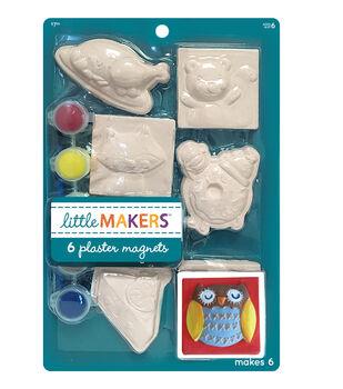 Little Maker's Fall Plaster Magnet Kit-Thanksgiving
