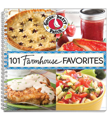 Gooseberry Patch 101 Farmhouse Favorites Book