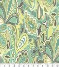 Home Essentials Lightweight Decor Fabric 45\u0022-Uninhibited Beachglass