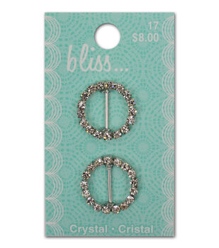 Bliss Crystal Round Slide