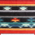 Luxe Fleece Fabric-Aztec