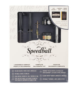 Speedball Art Products Complete Calligraphy Kits