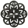 La Mode 1.5\u0027\u0027 Button-Pearlized Black