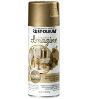 Rust-Oleum Imagine Metallic Spray Paint-Champagne, , hi-res