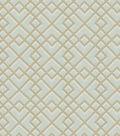 Home Decor 8x8 Fabric Swatch-Eaton Square Exam Ice