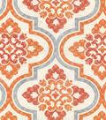 P/K Lifestyles Upholstery Fabric 54\u0022-Lattice Imprint/Paprika