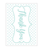 Park Lane A2 Embossing Folder-Thank You & Dots, , hi-res
