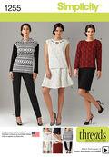 Simplicity Pattern 1255BB 20W-28W -Sportswear