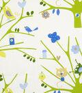 Home Decor 8\u0022x8\u0022 Fabric Swatch-Eaton Square Birdseye /  Green