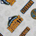 Denver Nuggets Cotton Fabric -Logo Toss