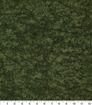 Keepsake Calico Cotton Fabric -Green Distressed