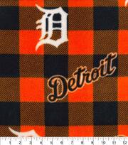 Detroit Tigers Fleece Fabric-Buffalo Plaid, , hi-res