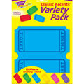 Winning Tickets Classic Accents Variety Pack, 72 Per Pack, 6 Packs