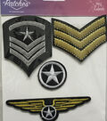 Military Patch Asst Iron On