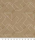 Robert Allen @ Home Upholstery Swatch 59\u0022-Folded Maze Amber