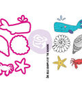 Julie Nutting Stamp & Die Set-Mermaid Kisses Sea Life