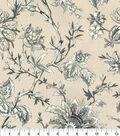 Home Decor 8\u0022x8\u0022 Fabric Swatch-Waverly Felicite SD Graphite