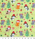 Holiday Cotton Fabric -Christmas Pets