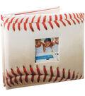8\u0022x8\u0022 Postbound Album-Baseball