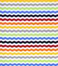 Nursery Cotton Fabric 43\u0022-Bright Rick Rack