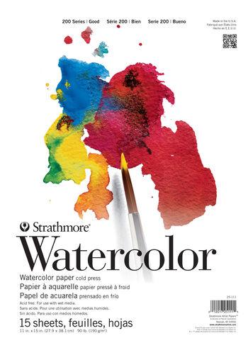 "Student Watercolor Pad 11""X15"""